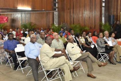 A section of the gathering at the opening of the GTUC's Congress, earlier this evening.
