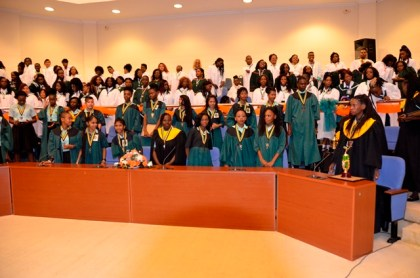 The 2016 graduating class