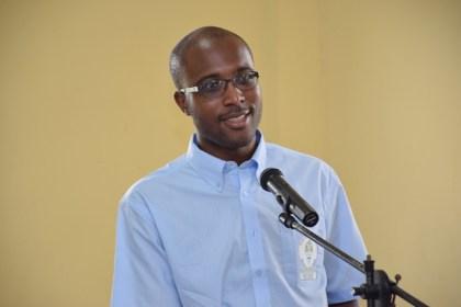 Dr. Quacy Grant – Malaria Programme Coordinator, Vector Control Services, Ministry of Public Health