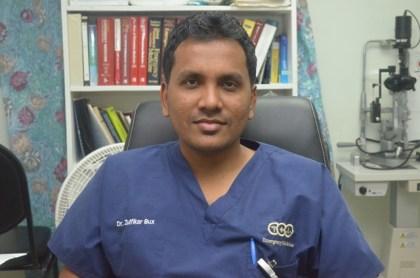 National Director of Emergency Medical Services, Dr Zulfikar Bux