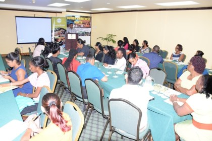 Some of the participants at the Frontline Training hosted by the Guyana Tourism Authority