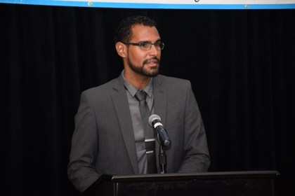 President of the Caribbean Veterinary Association, Dr. Paul Crooks