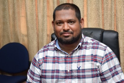 Senior Hinterland Engineer, Ministry of Public Infrastructure, Naeem Mohamed