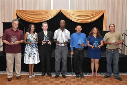 The awardees of the Ninth Annual Tourism Awards