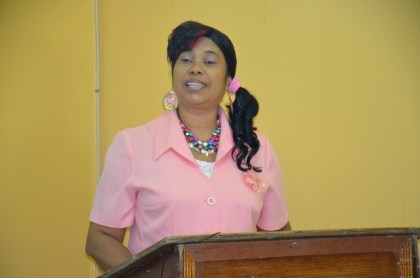 Ms. Ingrid LaRose wowed the audience with her proposal for a Christian bar for her community.