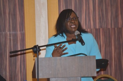 Dr. Karen Cummings, Minister within the Ministry of Public Health