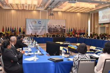 Heads of Government at the Twenty-Eighth Inter-Sessional Meeting of the Conference of Heads of Government at the Marriott Hotel in Georgetown