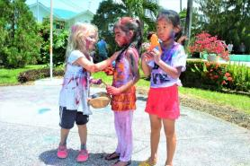 The Holi celebrations represent the inclusivity of Guyana's diverse cultures