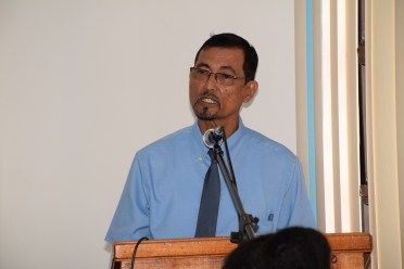 Carl Bacchus, Chairperson, Pharmacy Council of Guyana