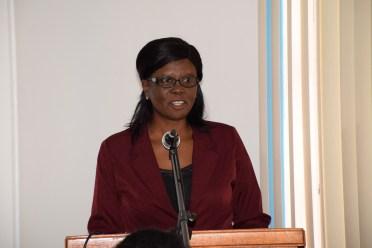 Megan Barker, President, Pharmacists' Association