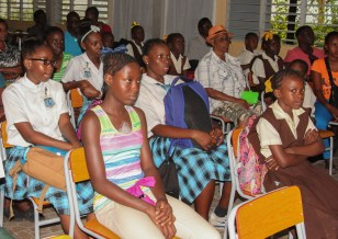 Some of the students expected to benefit from the programme