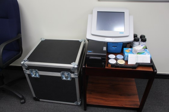 The donated Explosive Trace Detection (ETDs) Machines