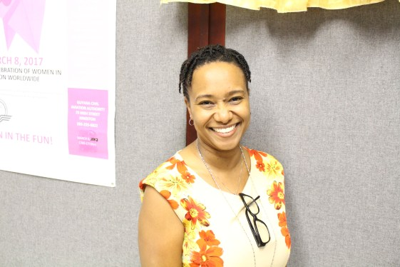 Fionna Bell, Cabin Safety Inspector with the Guyana Civil Aviation Authority