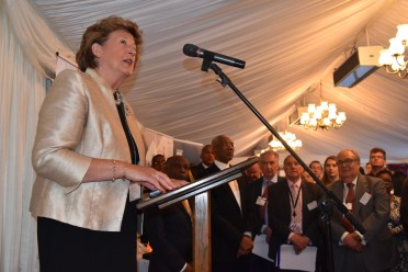 Baroness Anelay announced her visit to Guyana during her speech at the Caribbean Council's House of Lords Reception