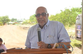 Guyana Water Incorporated's Chief Executive Officer, Dr Richard Van West-Charles