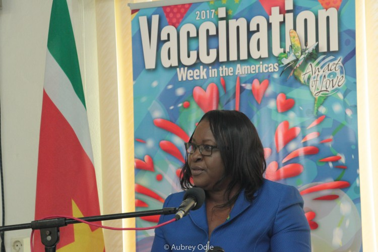 Minister within the Ministry of Public Health Dr. Karen Cummings (Guyana)