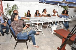 Persons in attendance at the rebranding and launch of Island Style Cafe and Bar