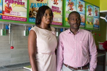 Melissa and Dwayne Younge, Owners of Tidy Up Detergent Refill Center