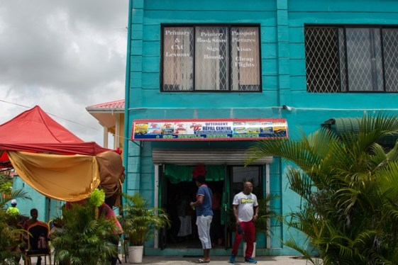 Tidy Up Detergent Refill Center on Third Avenue, Diamond, East Bank Demerara