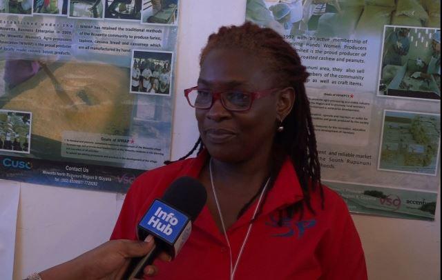 Representative for the Women's Agro-Processors Development Network, Jennifer Spencer