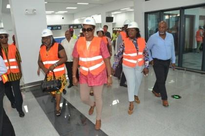 Parliamentarians on tour.