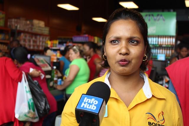 Lelita Lachman, Assistant Manager, Bounty Supermarket – Bourda