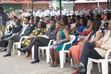A section of the audience at the launch of Linden Town Week