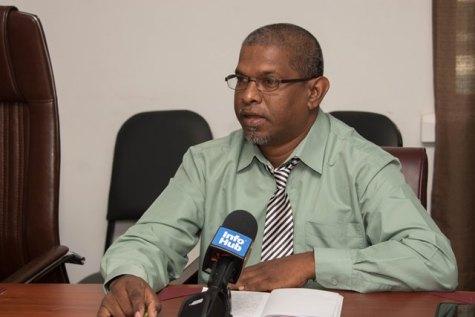Region Four District Education Officer (DEO), Immanuel Bridgewater