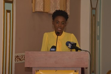 Deputy Director of Social Services, Ministry of Social Protection, Abike Samuels
