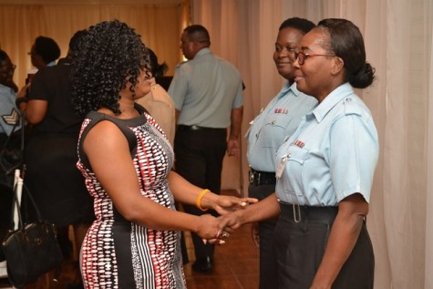 Participants engaging each other prior the session's commencement
