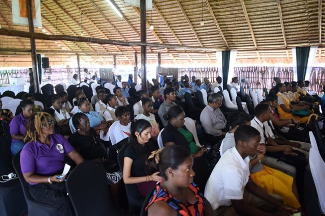 A section of the participant at the launching of the revised Food Based Dietary Guidelines for Guyana.