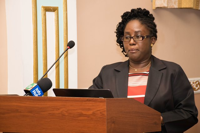 Director of GNBS, Candelle Walcott-Bostwick