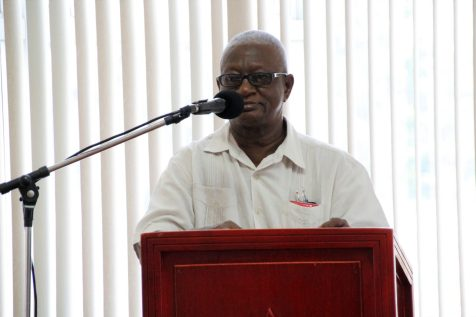 Chairperson, Council for TVET, Mr. Jerry Simpson