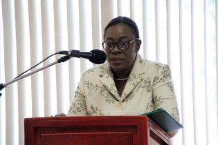 Minister of Education, Hon. Nicolette Henry