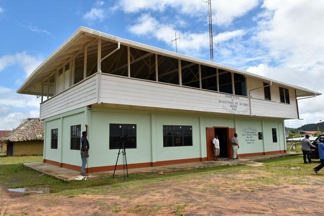 The rehabilitated main building.