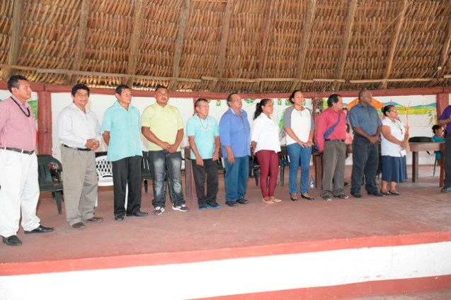 The new St. Ignatius Village Council.