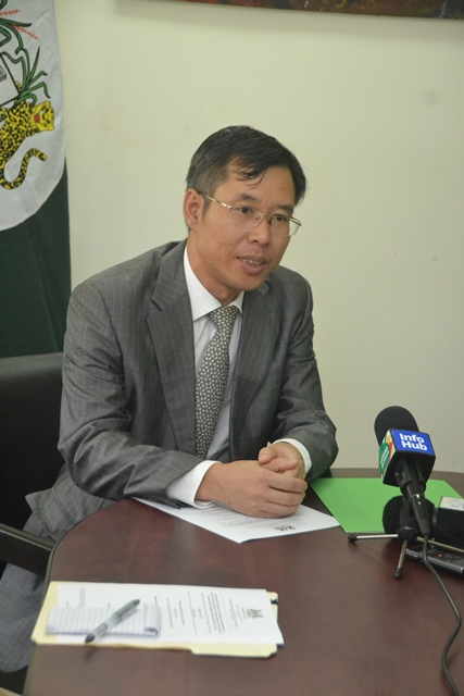 Counsellor and Deputy Chief of Mission, Chinese Embassy, Mr. Chen Xilai.