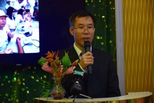 Counselor and Deputy Chief of Missions, Chinese Embassy in Guyana Chen Xilai.
