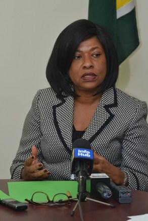 Deputy Vice Chancellor - Planning and International Engagement, University of Guyana, Dr. Barbara Reynolds.