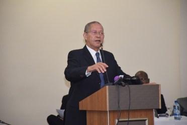Former Prime Minister of Jamaica Bruce Golding.