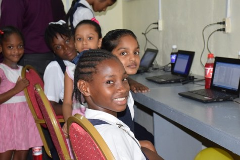 Smiling faces at the Cumberland ICT Hub.