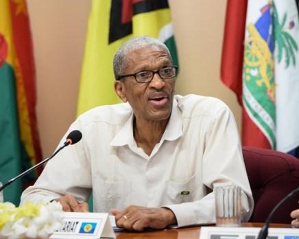 Assistant Secretary-General, Human and Social Development, Dr. Douglas Slater.