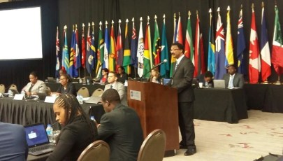 HON. BASIL WILLIAMS MINISTER OF LEGAL AFFAIRS AND ATTORNEY GENERAL.