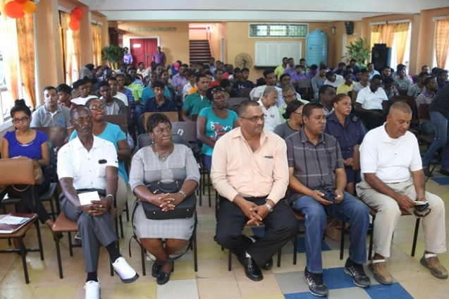 Regional officials, participants and other invited guests at the launch of IN-STEP.