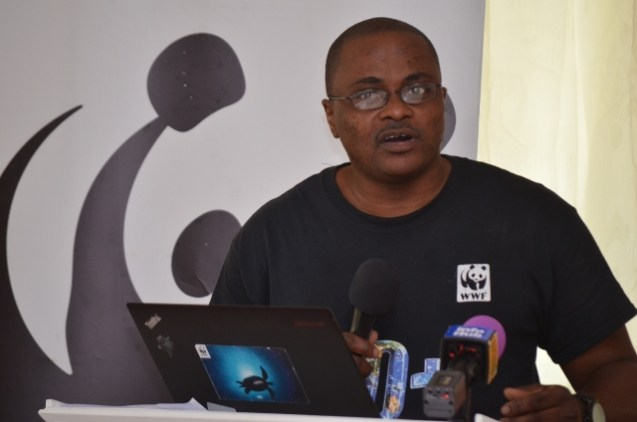 Communications Officer of WWF Guyana, Michael Gordon.