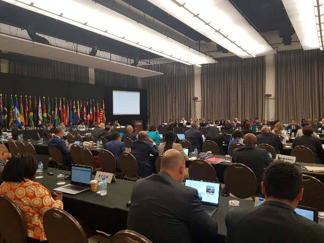 Participants at the CFATF 'S XLVII PLENARY AND WORKING GROUP MEETING S IN TRINIDAD AND TOBAGO..