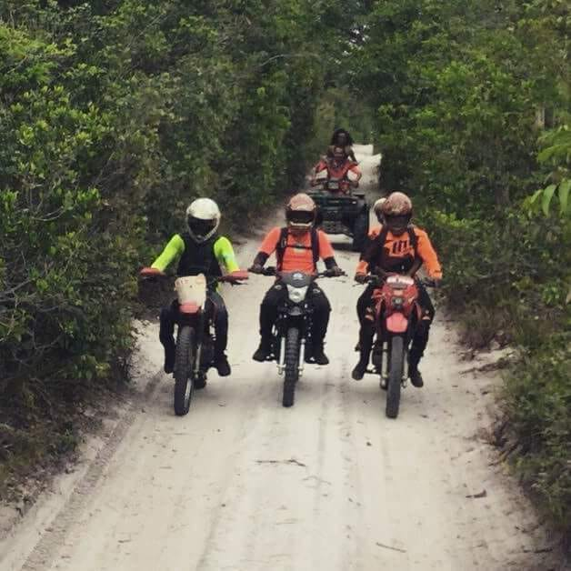 Event scene from 2017: Bikers take the trail