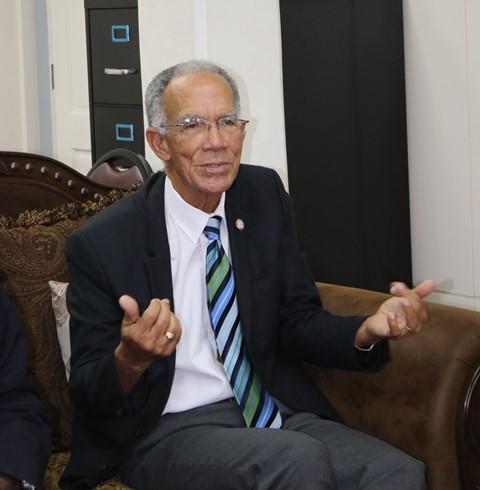 Sir Trevor Hassell, HCC President.