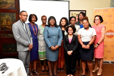 Health, Dr. Karen Cummings and representatives from Women Across Differences (WAD).