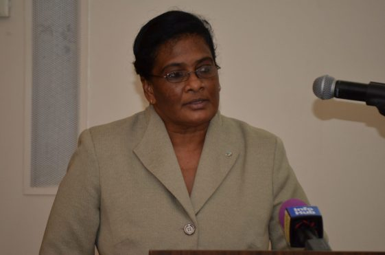 Permanent Secretary of the Ministry of Business, Rajdai Jagernauth